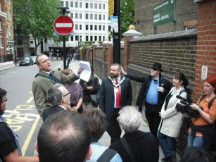 Kenneth Williams Walking Tour, Camden 2010